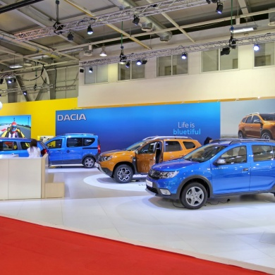 Renault and Dacia Stands
