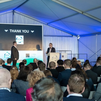 Opening of Plastics Recycling Plant